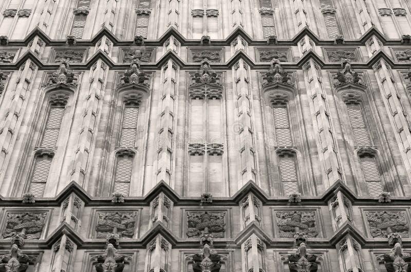 Architecture gothique photo stock
