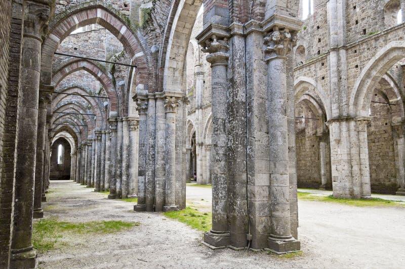 Architecture gothique d'une église image libre de droits