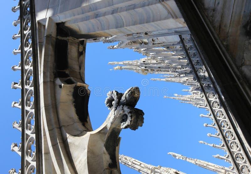 Architecture gothique, groupes photographie stock libre de droits