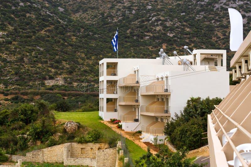 Architecture grecque moderne village bali cr te photo for Architecture grecque