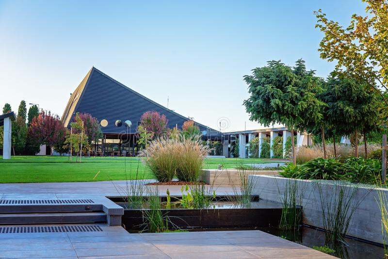 Architecture And Grounds Of Luxury Hotel Resort stock image