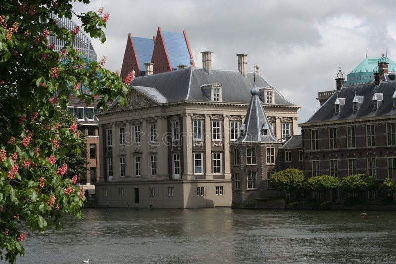 Architecture the Hague / architectuur Den Haag royalty free stock photography