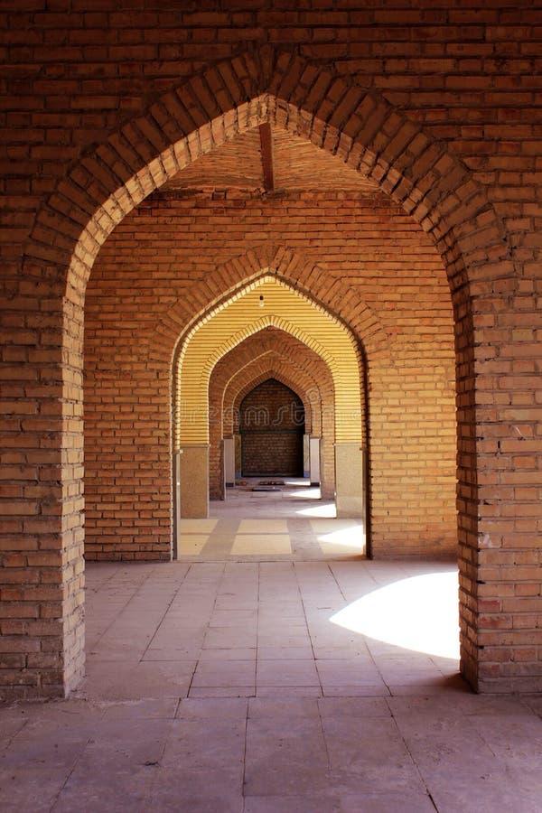 Architecture historique d'Isphahan images libres de droits