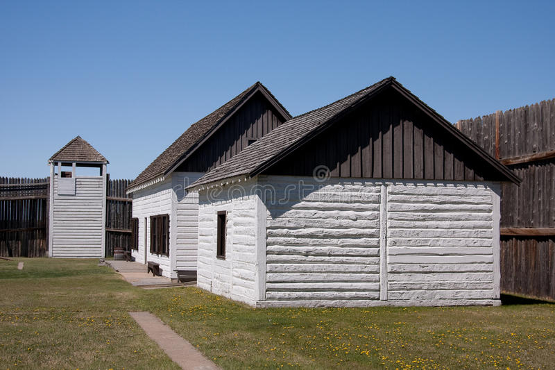 Architecture historique de fort photographie stock libre de droits
