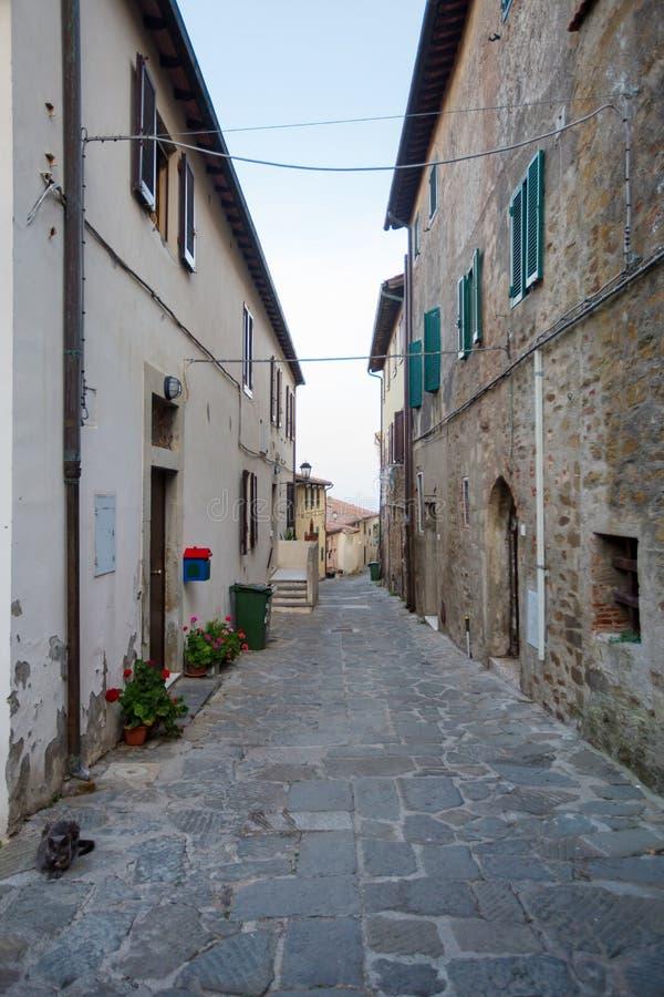 Free Architecture In Italian Town, Castiglione Della Pescaia. Royalty Free Stock Photos - 160985808