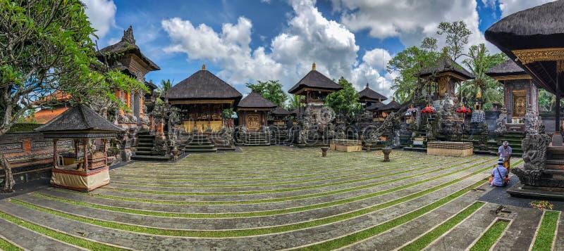 Architecture inside Ubud Palace, Ubud, Bali, Indonesia. Galungan 25 - 27 December 2018. Inside of Ubud Palace, Ubud tourist attraction, Bali, Indonesia. There royalty free stock images