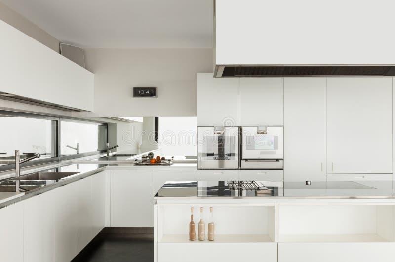 Architecture, intérieur d'une villa moderne photographie stock libre de droits