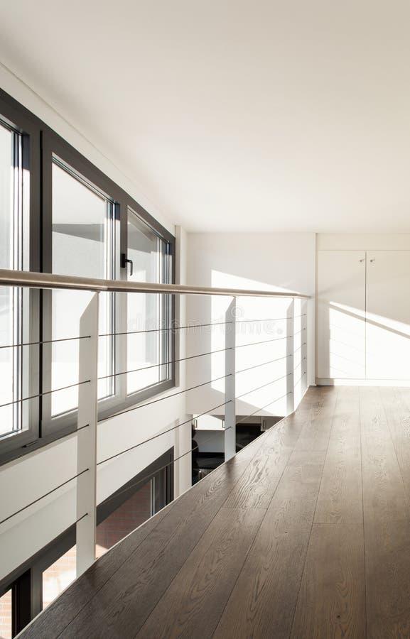 Architecture, intérieur de nouvelle maison images libres de droits