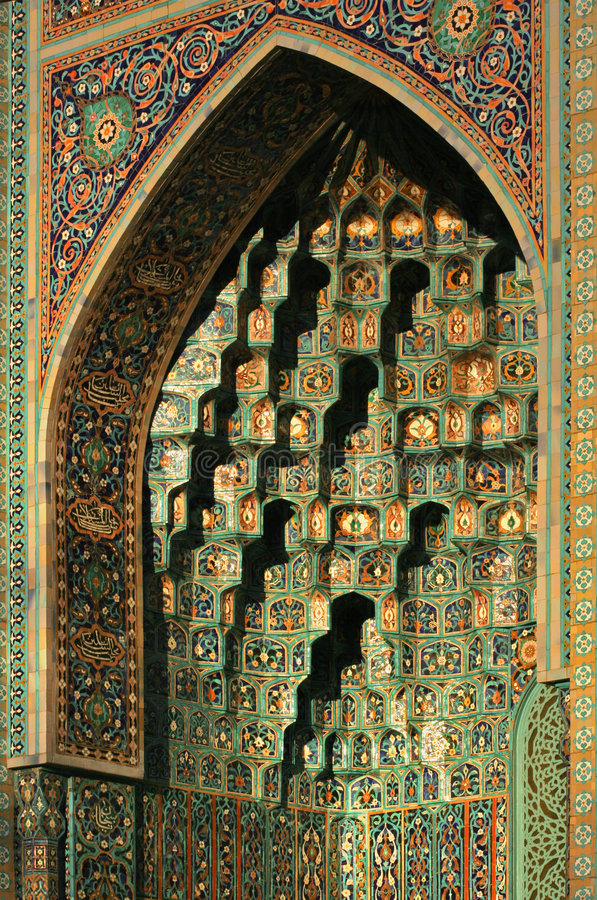 Architecture of islam stock images