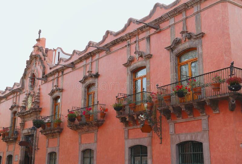 Architecture IX de Queretaro image libre de droits
