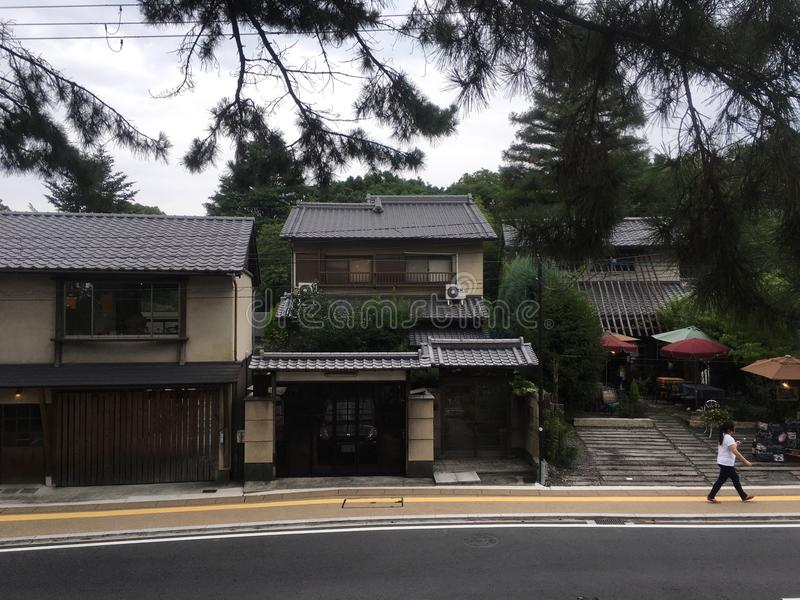 Architecture japonaise photographie stock libre de droits