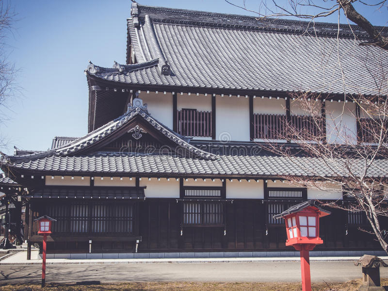 architecture japonaise traditionnelle photo stock image