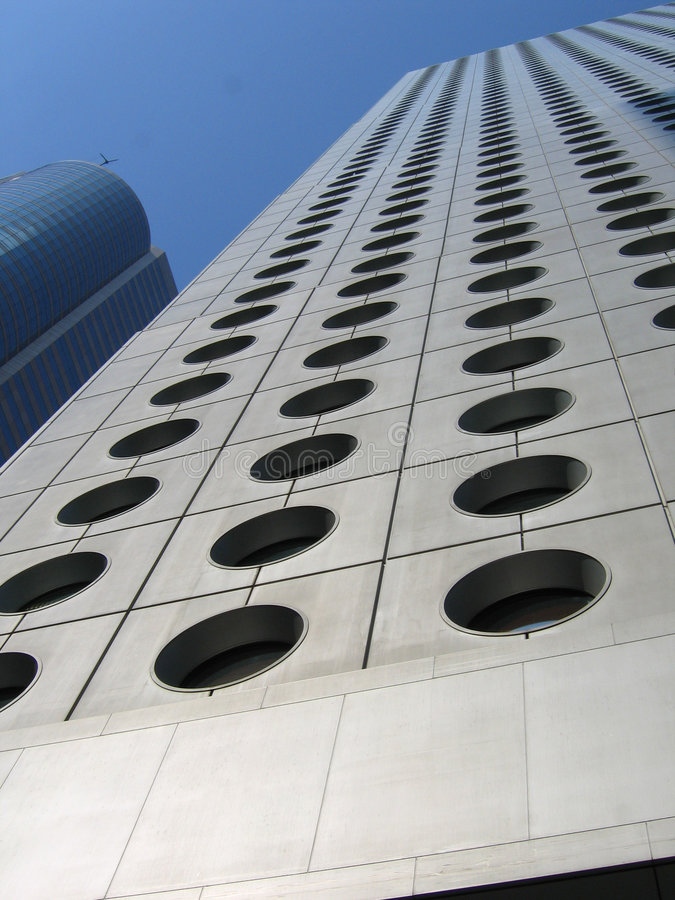 Architecture Jardine House royalty free stock photography