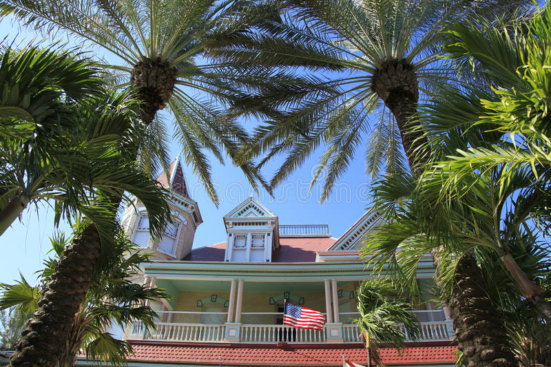 Architecture in Key West royalty free stock images