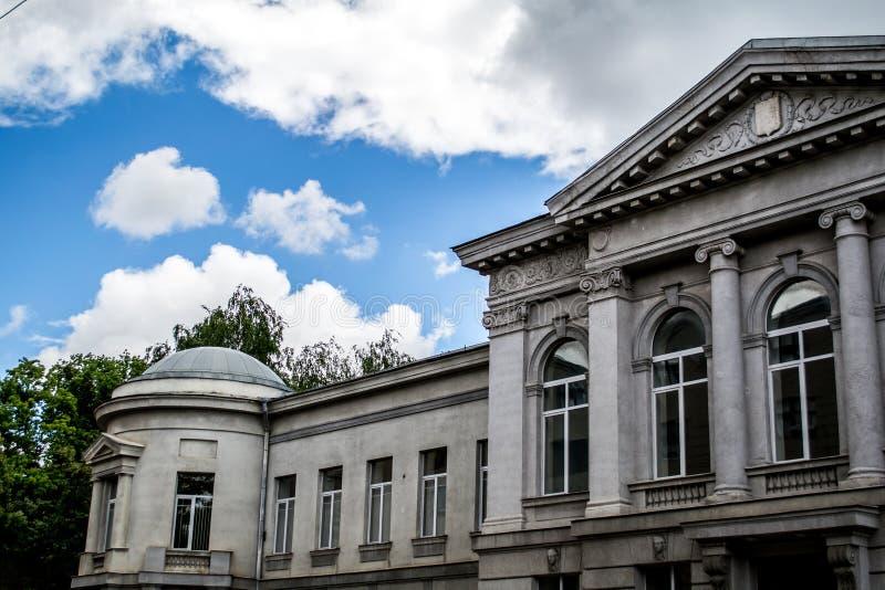 Architecture of Kharkov stock image