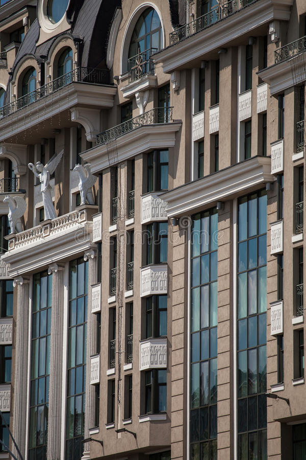 Architecture of Kiev royalty free stock photography