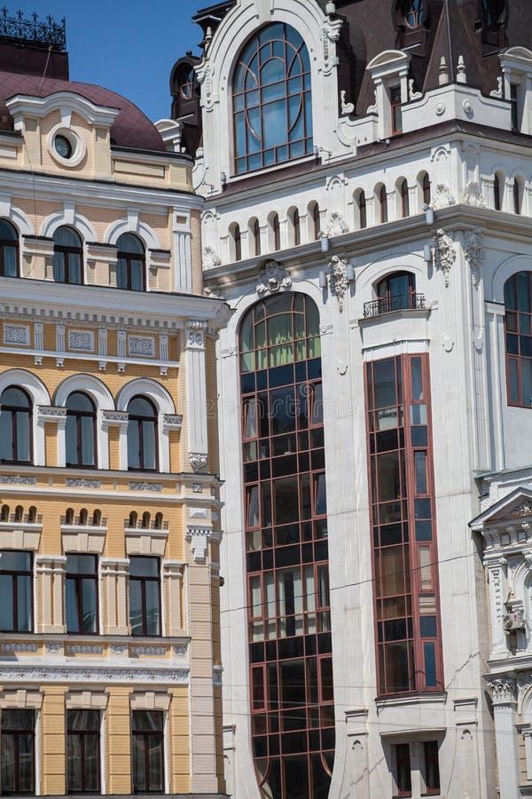 Architecture of Kiev stock photos