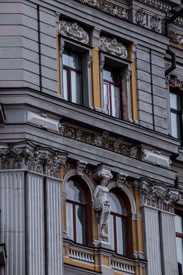 Architecture of Kiev stock photo