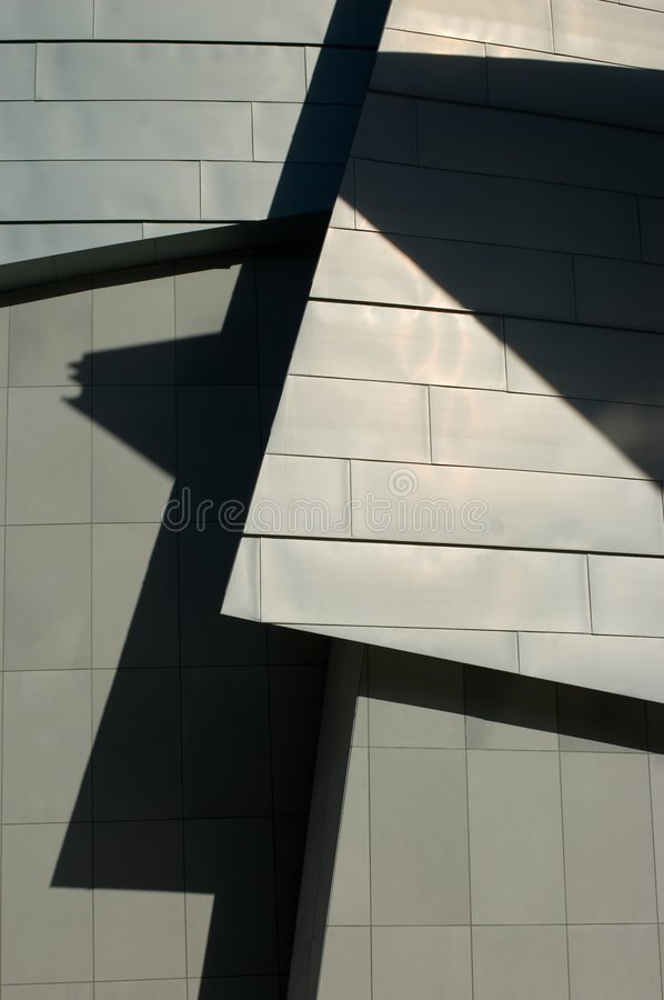 Architecture-line and shadow royalty free stock photography