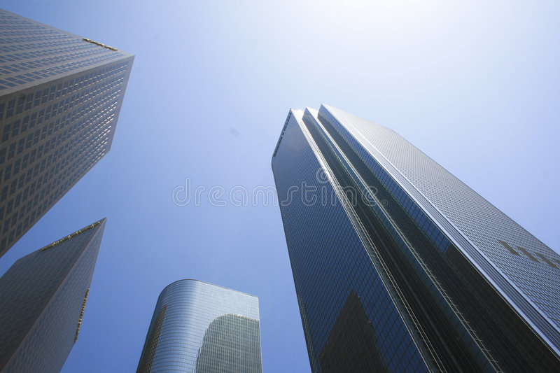 Architecture Los Angeles royalty free stock photo
