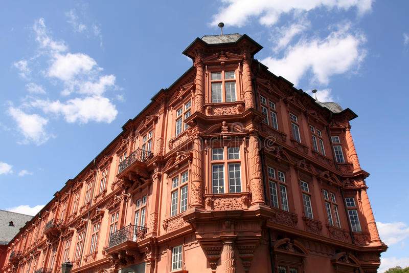 Architecture of Mainz stock photo