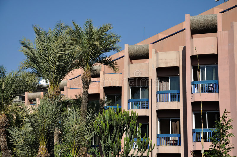 Download Architecture in Marrakech stock image. Image of facade - 7385661