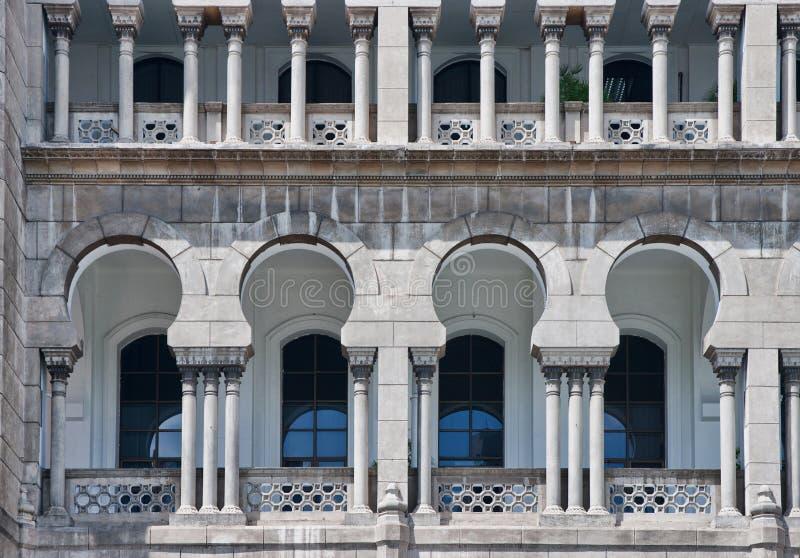 Architecture maure en Malaisie photographie stock libre de droits
