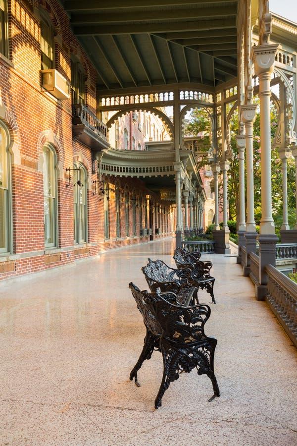 Architecture mauresque d'université de Tampa photographie stock