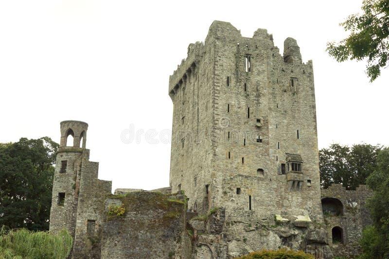 Architecture militaire médiévale imposante images libres de droits