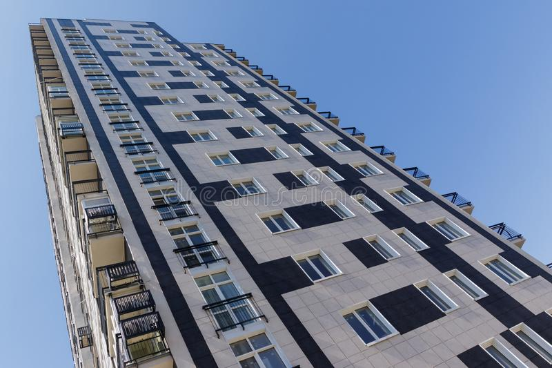 Architecture of modern residential buildings.  royalty free stock photography