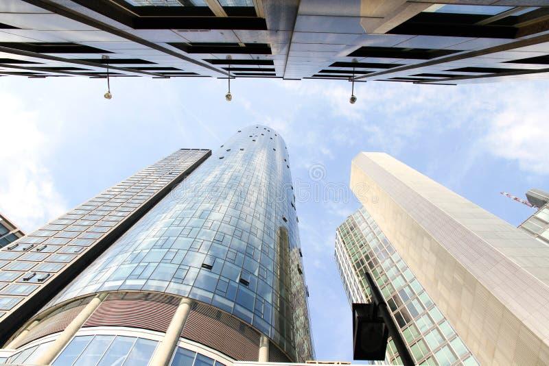 Architecture moderne à Francfort sur Main image stock