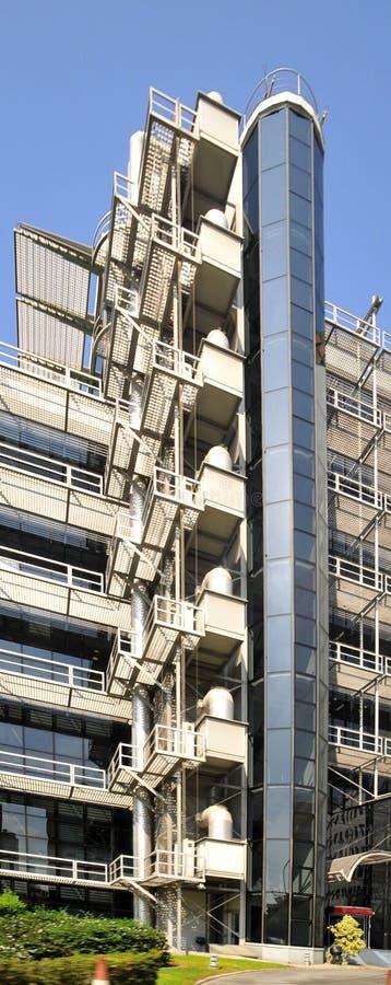 Architecture moderne à Nicosia - en Chypre photo stock
