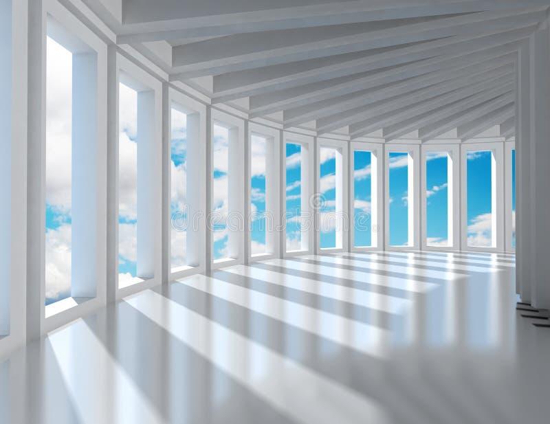 Architecture moderne illustration de vecteur