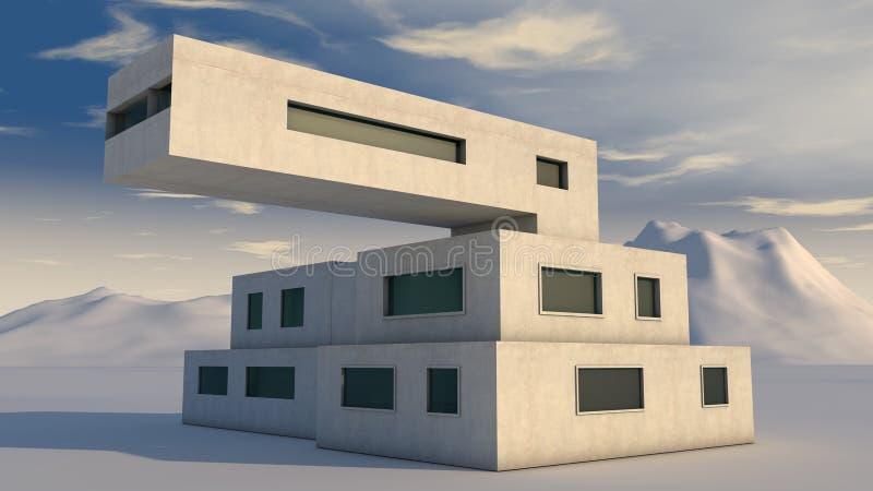 Architecture moderne illustration stock