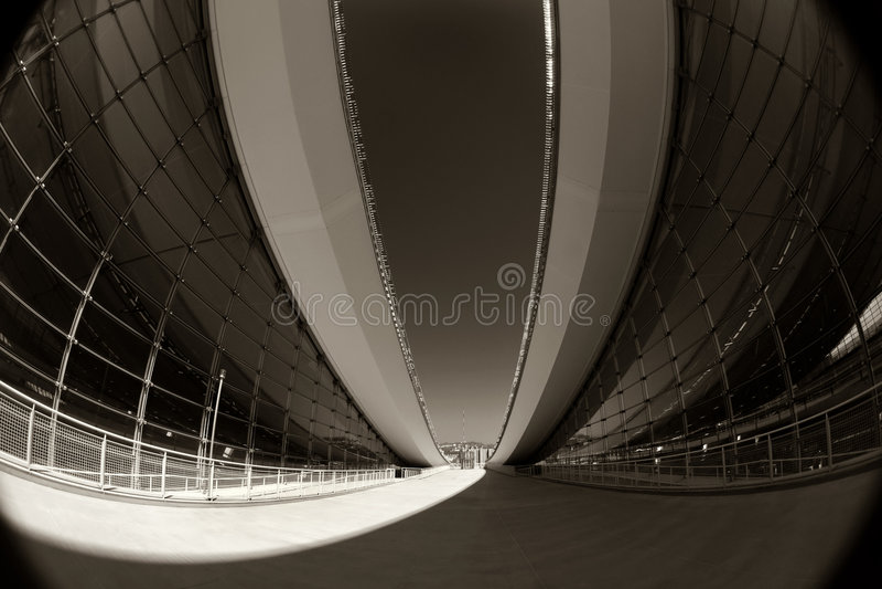 Architecture moderne abstraite photo stock