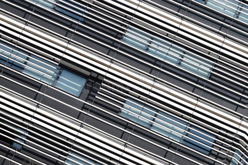 Architecture moderne abstraite Ligne composition en détail image stock