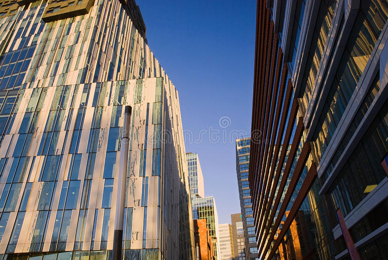 Architecture moderne, Amsterdam photo stock