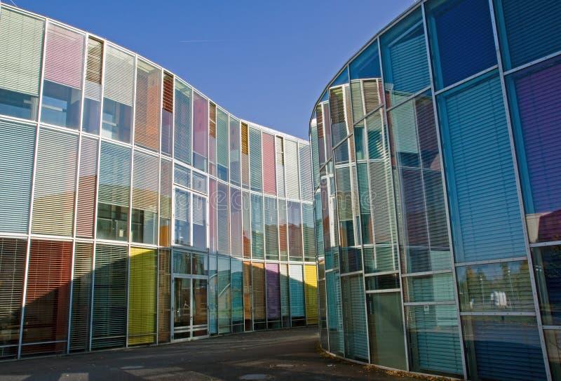 Architecture moderne colorée photo libre de droits