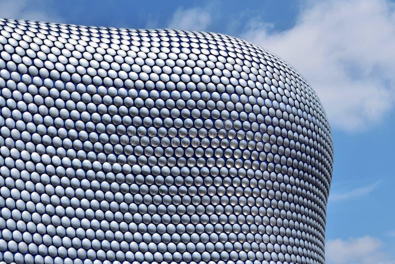 Architecture moderne dans la ville de Birmingham images libres de droits