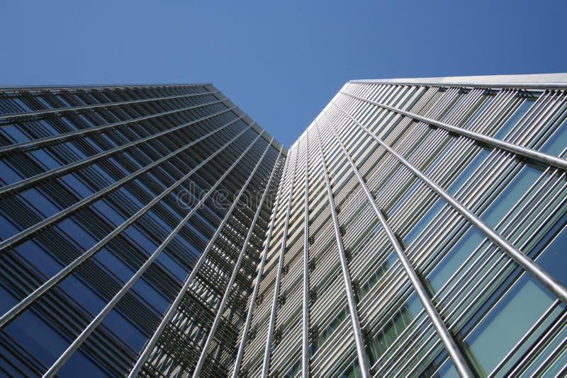 Architecture moderne de gratte-ciel photo libre de droits