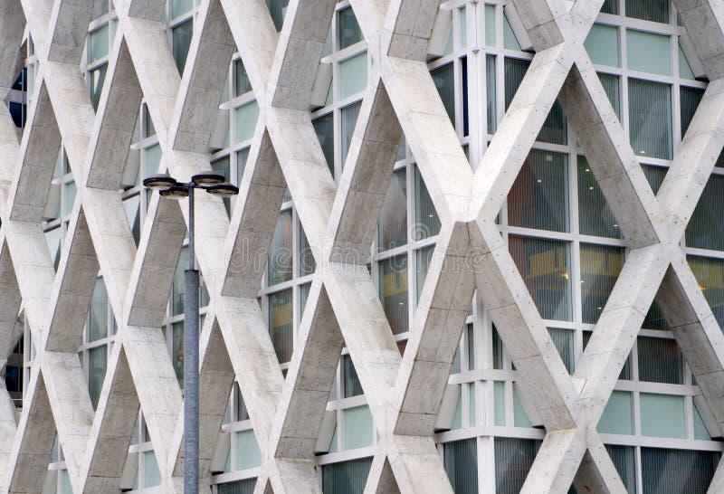 Architecture moderne de Paris images stock