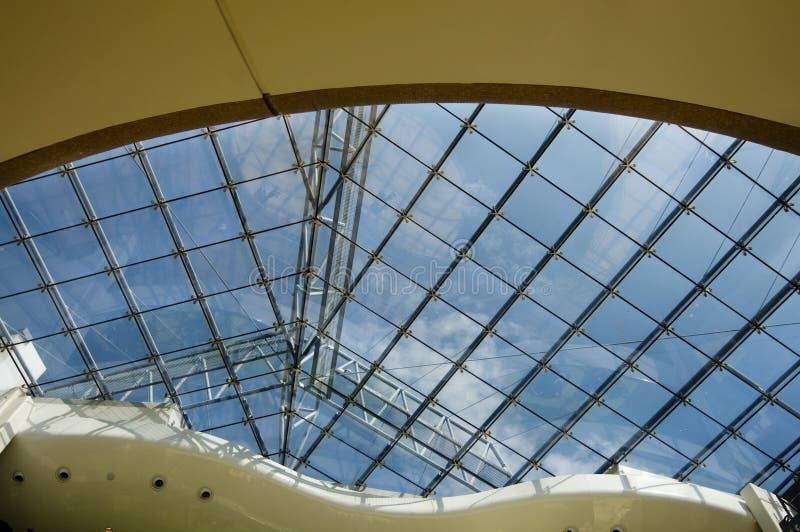 Architecture moderne de toit image stock