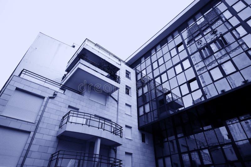Architecture moderne et vieille photos libres de droits
