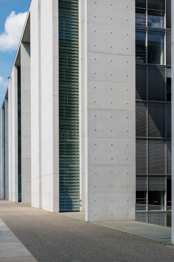 Architecture moderne, extérieur de construction de détail photographie stock