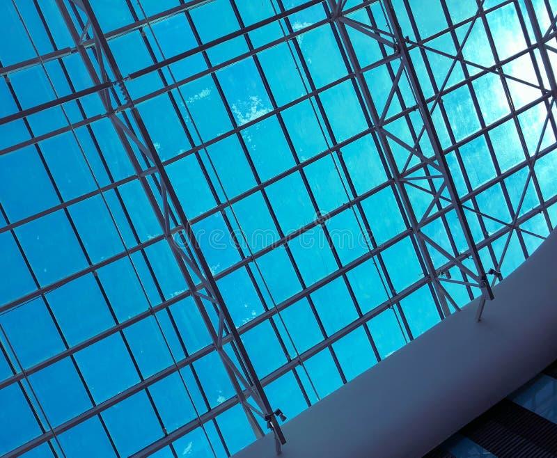 Architecture moderne m?tal de conception photos stock