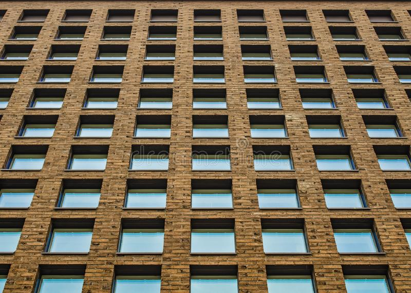 Architecture moderne, perspective geometry photographie stock