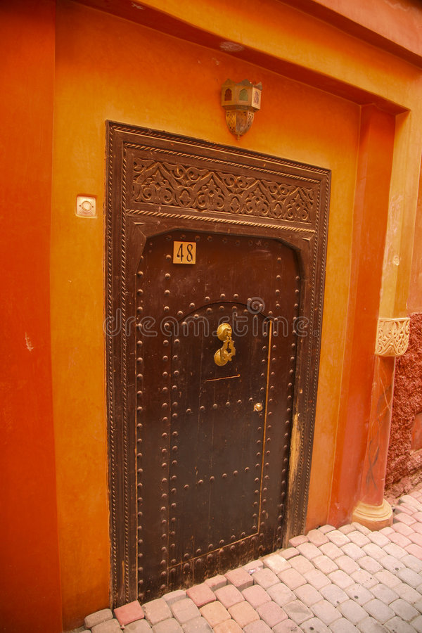 Architecture in morocco royalty free stock image