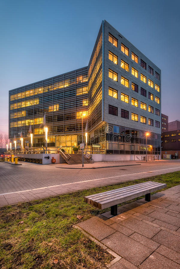 Architecture in Netherlands. New architecture in Almere,Netherlands royalty free stock photos