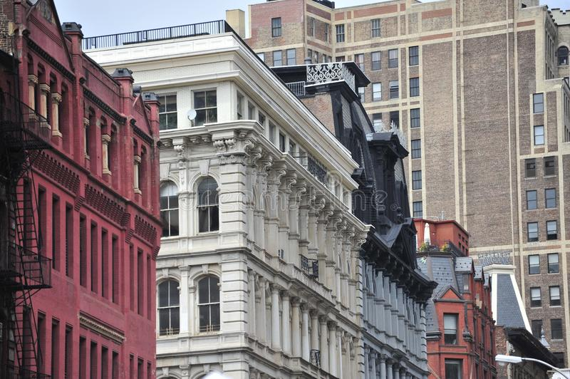 New York architecture royalty free stock photography