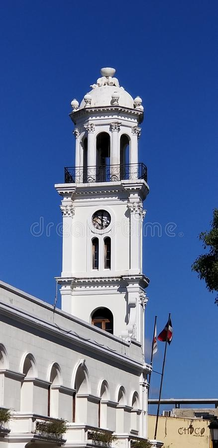 Architecture and old historic building abound in Santo Domingo stock photo